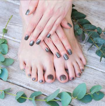 Treat your hands and feet to a manicure and pedicure.