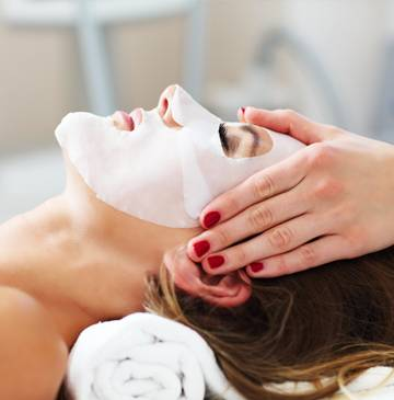 Pamper yourself with a facial from The Getaway Spa.